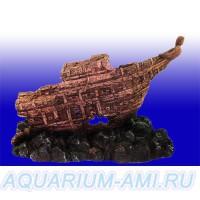 Затонувший корабль №552 - объёмный фон
