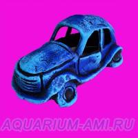 Грот в аквариум автомобиль