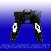 Блок кранов, адаптер для фильтра ATMAN AT-3338S