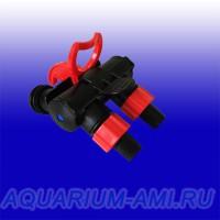 Адаптер с кранами к фильтру LAGUNA 2208,2218