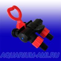 Адаптер с кранами для внешнего фильтра LAGUNA 3313,3323,3328