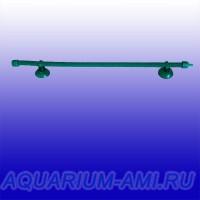 Зелёный распылитель воздуха 40 см для аквариума