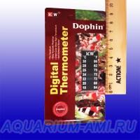 Термометр для аквариума ЖК малый