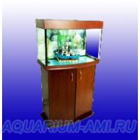 АКВАС Аквариум панорама 130 литров