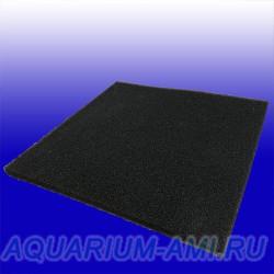 Поролоновый лист из польского материала для фильтрации 2см*50см*50см