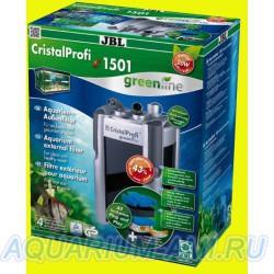 Внешний фильтр для аквариума - JBL CristalProfi e1501 greenline