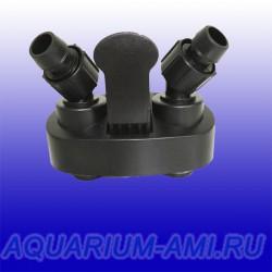 Блок кранов (адаптер) к внешнему фильтру sunsun 304,304В