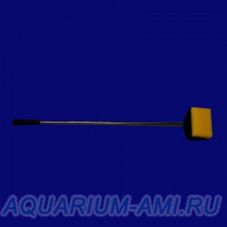 Щётка для чистки стёкол в аквариуме