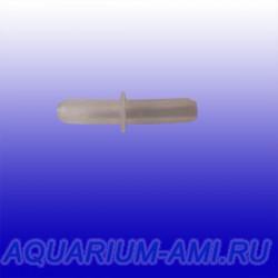 Соединитель шланга 4мм